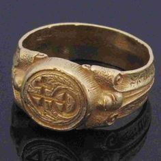 A MEDIEVAL ring found on a Dorset beach sold at auction for nearly £15,000 above its estimate.