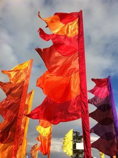 Festival flag hire - All our flags are designed with festivals in mind and can be installed using our telescopic, bamboo poles or scaffold depending on the size of the event. With hundreds of each flag style available and thousands of metres prices start at £16 per flag inclusive of telescopic pole and fixings.