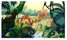 The Forbidden Jungle from Jak and Daxter the Precursor Legacy