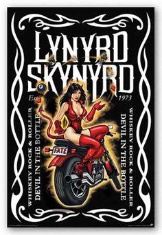 Lynyrd skynyrd whisky art