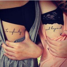 @Colleen Sweeney Ruane..that spot.not the same words..  Rib tattoo