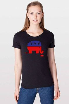 Women's T-Shirt: The debasing of American politics
