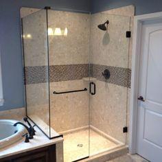Glass Shower Door Handle Loose