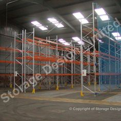 Apex Pallet Racking installed by Storage Design Limited in Barry South Wales Pallet Racking, Storage Design, South Wales, Lockers, Shelving, Projects, Home Decor, Homemade Home Decor, Shelves