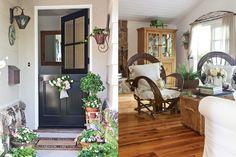 I've always loved barn doors. Killer dream to have one on my front door at Delta Breeze