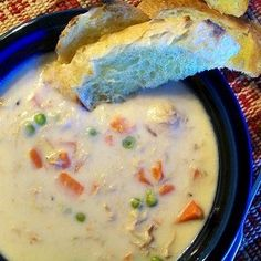 Crock-Pot Ladies Crock-Pot Chicken Pot Pie Soup~T~ YUM