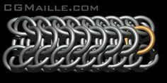 Dragonback, Chainmaille Tutorial - CGMaille