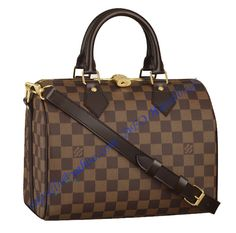 Louis Vuitton Damier Ebene Speedy with shoulder strap bandouliere sale at - Free Worldwide shipping. Get today Louis Vuitton Damier Ebene Speedy with shoulder strap bandouliere Louis Vuitton Speedy, Louis Vuitton Damier, Louis Vuitton Handbags, Louis Vuitton Monogram, Canvas Handbags, Lv Handbags, Burberry Handbags, Luxury Handbags, Canvas Purse