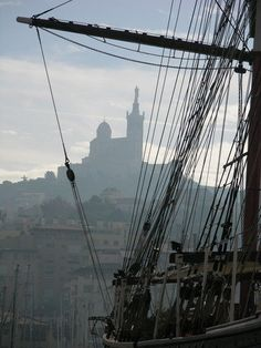 View from the old port of Marseilles. Monuments, Pillars Of Eternity, Pirate Queen, Forest Elf, Dragon Age 2, Black Sails, Pirate Life, Throne Of Glass, Rhone