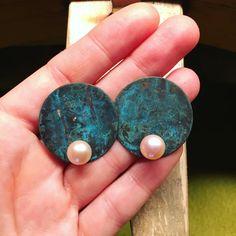 Lifou 'Under the Sea' stud earrings with freshwater pearls Under The Sea, Fresh Water, Pearl Earrings, Pearls, Jewelry, Jewellery Making, Jewerly, Jewelery, Jewels