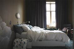 One of the main events of the year in the world of interior design happened - IKEA presented its newest catalog for Browsing their ✌Pufikhomes - source of home inspiration Best Interior, Interior Design, Ikea Usa, Bed Frame With Storage, Create Space, Queen Beds, Scandinavian Design, Space Saving, Master Bedroom