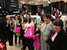 Raffle PRize winners at House of Fraser #GoCoco #CoconutWater #Coconut #Rehydrate #Health #Nutrition #HouseofFraser