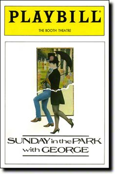 Sunday in the Park with George Broadway @ Booth Theatre - Tickets and Discounts Broadway Theme, Broadway Posters, Broadway Playbill, Theater Tickets, Off Broadway Shows, Broadway Plays, Art In The Park, National Theatre, Scene