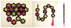 Flor granny tejida a crochet