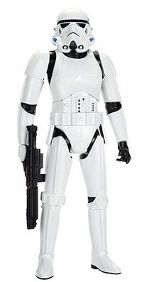 Star Wars Big Figs Rogue One Massive Stormtrooper Action Figure Stormtrooper stands tall;Includes 7 points of articulation;Comes with standard Imperial issue blaster;Collect all the JAKKS BIG FIG Star Wars Classic Action Figures Star Wars Stormtrooper, Stormtrooper Action Figure, Imperial Stormtrooper, Star Wars Comics, War Comics, Star Wars Toys, Star Wars Disney, Figurine Star Wars, Big Fig