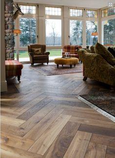 Amazing wooden floors by Bauholz.es
