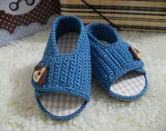 Sandalinha de Crochê