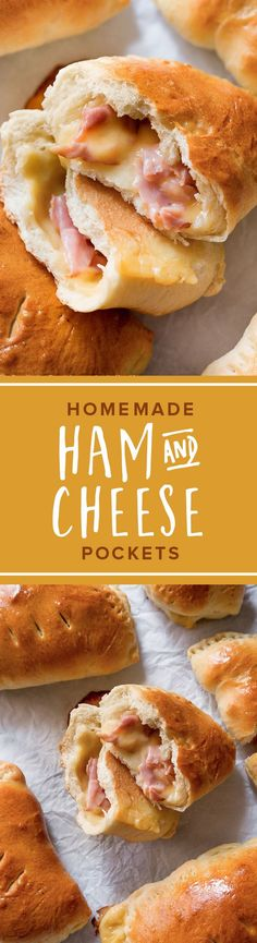 Freezer-friendly comfort food goodness! Recipe for Homemade Hot Pockets on sallysbakingaddiction.com