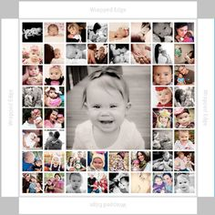 20x20 canvas collage gallery wrap