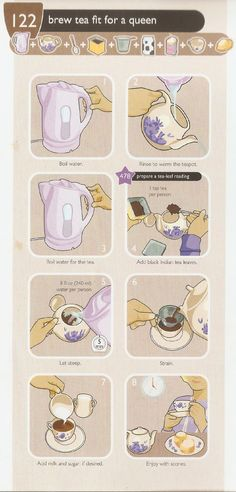 How To Brew Tea Fit for a Queen (British style)