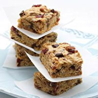 Chocolate,+Cranberry+&+Oat+Bars+by+Kraft+Food+&+Family