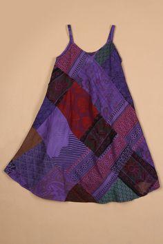 Cute patchwork girls' dress!