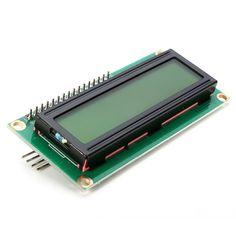 IIC/I2C 1602 Yellow-Green Backlight LCD Display Module For Arduino