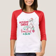 Tinker Bell | Holiday Cheer T-Shirt - merry christmas diy xmas present gift idea family holidays