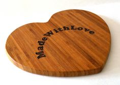 Chopping Board Laser Engraved Worlds Greatest Chef  -Mothers Day, Birthday, Weddings, Special Events