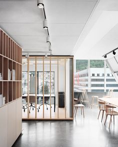 Bergen International Festival Office By Eriksen Skajaa Architects | http://www.yatzer.com/bergen-international-festival-office-eriksen-skajaa-norway photo © Rasmus Norlander. | #saltstudionyc