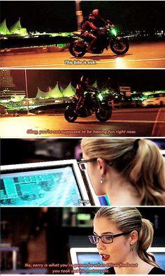 Arrow - Roy & Felicity #3.10 #Season3