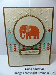 Zoo Babies Baby Card