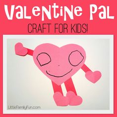 Fun Valentine's Day craft for kids!