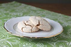 Amaretto Cookies.