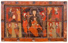 Frontal de l'autel de Sant Hilari de Vidrà, Ripollès, Ateliers de Vic, Anonyme, 1ère moitié du XIIIe siècle Provenant de l'église de Sant Hilari de Vidrà, Museu Episcopal de Vic