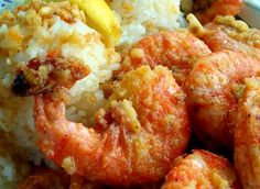 Kahuku-Style Garlic Shrimp- The north shore of Oahu is famous for its huge waves and huge flavor found in the garlic shrimp at various restaurants and food trucks around town.