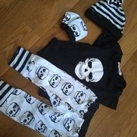 Monday Funny Romper Cute Newborn Baby 0-24 Months Girl Boy Long Sleeve 1367