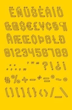 FRUSTRO typeface on Typography Served