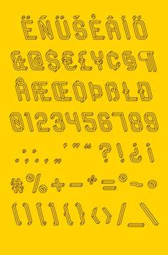 frustro typeface.