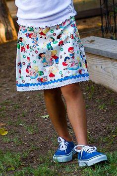 Jane Skirt | Ava Rose Designs
