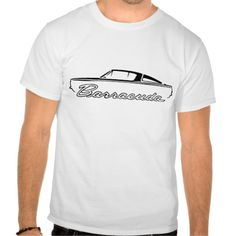 1964-65 Plymouth Barracuda Classic Car Design Tee T Shirt, Hoodie Sweatshirt