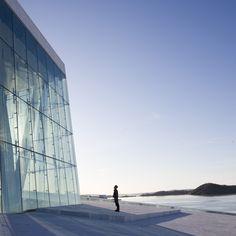 Opera House Oslo, designed by Norwegian architects Snøhetta, opens next week.
