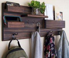 30+ DIY Key Holder & Racks For Your Home