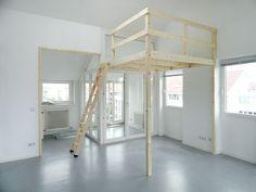 Hochbetten Für Erwachsene Günstig hochbett 200 x 200 mit treppe und schlafgeländer für erwachsene und