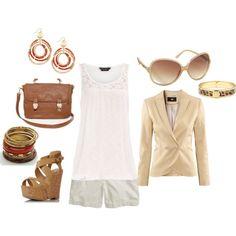 Spring/Summer chic, created by jeannie-ancheta-matthews