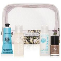 Crabtree and Evelyn La Source Traveller Set - La Source.  Buy Online and Save!  Free Shipping.