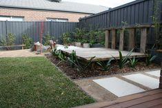Landscape & Garden Design in Melbourne Australia - Qualified Horticulturist Ph 0413 430 622 Melbourne, Garden Design, Waiting, Gardens, Comfy, Patio, Rustic, Pillows, Outdoor Decor