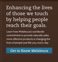 Melaleuca has no harmful chemicals AND it's cheaper. How can you go wrong?