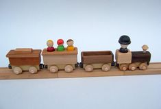 The Passenger Car by MamaMadeThem on Etsy. Cute train stuff compatible with the major brands.