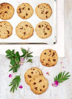My Sweet Faery: Cookies choco-avoine sans gluten - Gluten-free chocolate chip cookies with oats